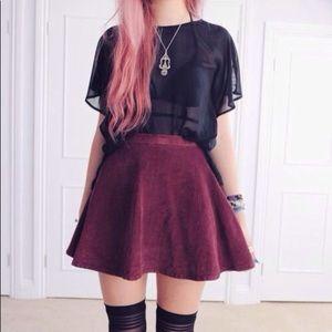 💃🏻 AA - Corduroy Circle Skirt - Small
